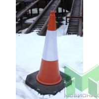 Конус-ограждение сигнальный дорожный высотой 1 метр