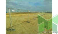 Укороченная строительная секция оцинкованная (серия ЕВРО)