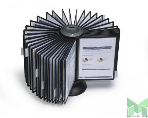 Стойка - карусель SHERPA® Display System carousel на 40 демопанелей А4
