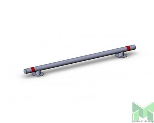 Колесоотбойник прямой на отводах усиленный КМ-2000/108Х3