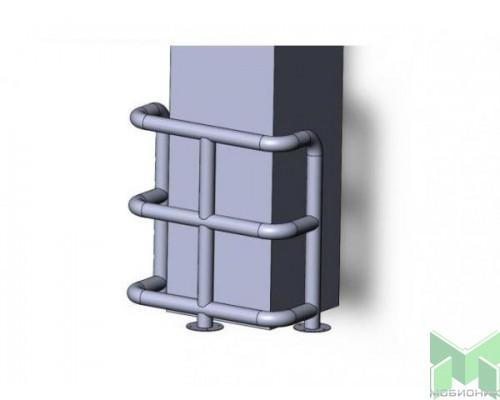 Колесоотбойник для колонн на отводах КМ-950/76Х3