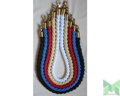 Канат декоративный плетеный. D=32мм. L=1,5м