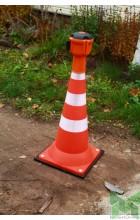 Рамка для сигнального конуса-пирамидки