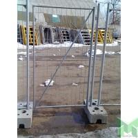 Калитка строительного ограждения 1 м, оцинк.