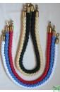 """Плетеные декоративные канаты 2 метра. Белый, Синий, Красный, """"Золотой"""", Черный."""